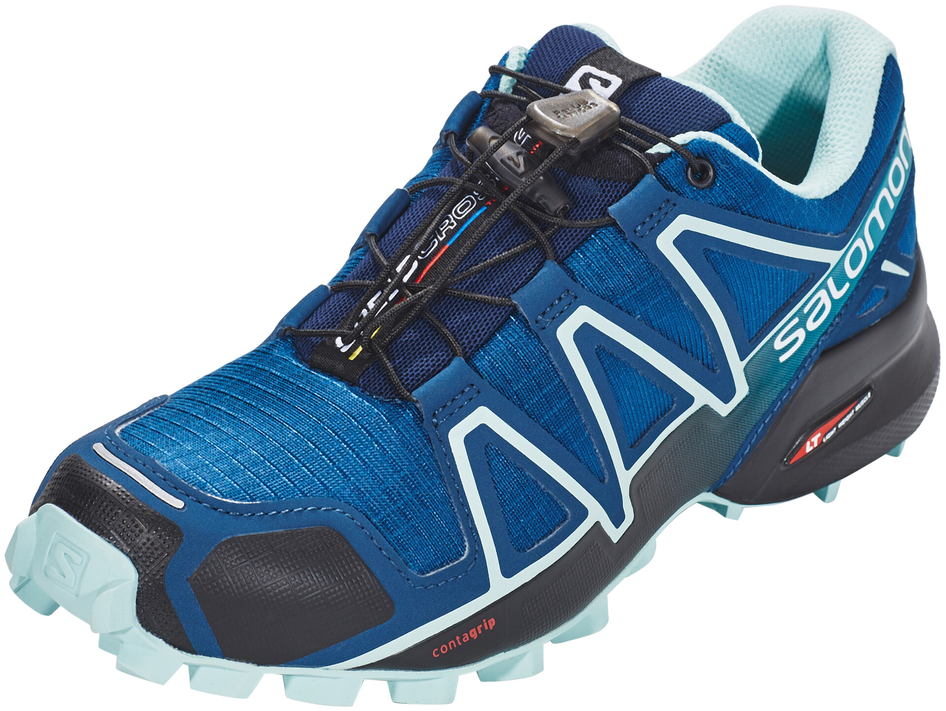 Salomon Speedcross 4 Shoes Dame poseidoneggshell blueblack